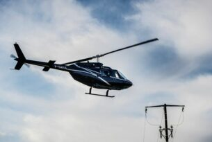 Diagnostic par hélicoptère des réseaux électriques