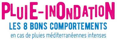 PLUIE – INONDATION LES BONS COMPORTEMENT