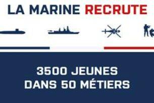 La Marine lance sa nouvelle campagne de recrutement 2021